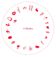 Medea Design Wheel - Easter / Valentine