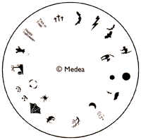 Medea Design Wheel - Halloween