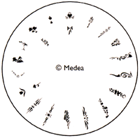 Medea Design Wheel - Floral