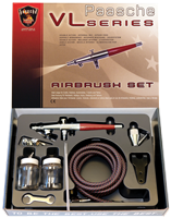 Paasche VLS-3AS Airbrush Set (with all 3 Heads)