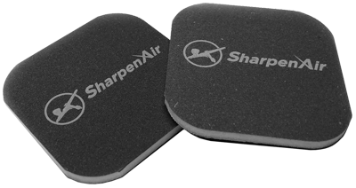SharpenAir™ 3000 Grit Polishing Pads (x2)