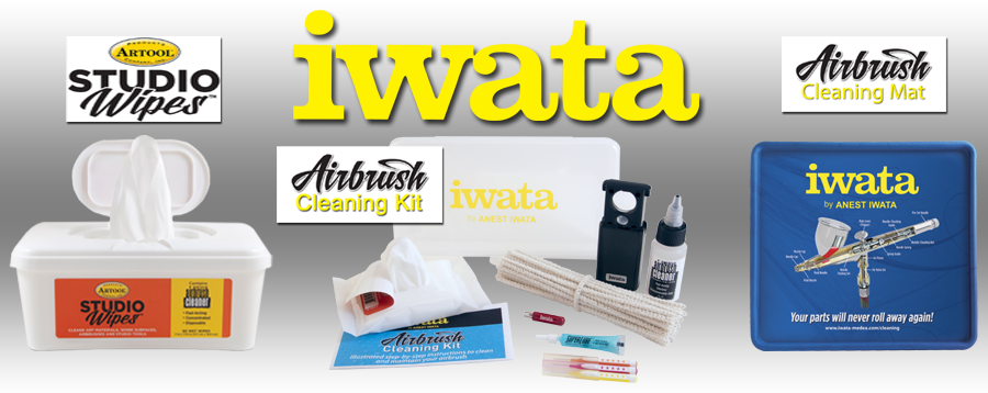 Iwata & Artool Cleaning Accessories