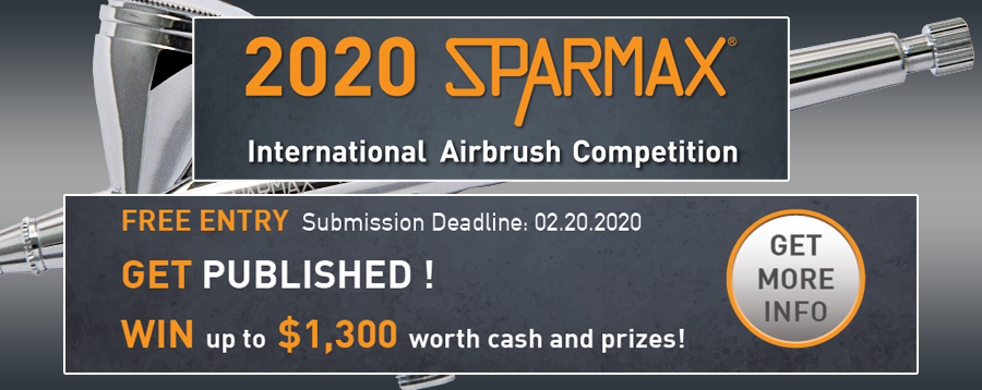 Sparmax International Airbrush Competition