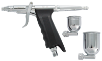 Sparmax GP-50 Pistol Trigger Airbrush [EX-DISPLAY | NEW | NOT USED | SLIGHT WEAR ON CARD PACKAGING SLEEVE]