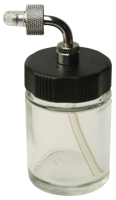 22cc glass bottle and adapter for DH-125