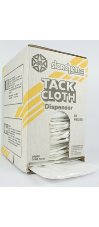 Tack cloth - dispenser pack of 50
