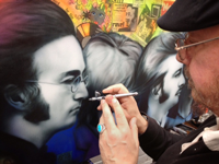 Airbrushing Portraits Training Course - Giorgio Uccellini (29 January 2019)