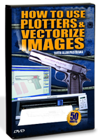 Alan Pastrana - How to Use Plotters & Vectorize Images (DVD)