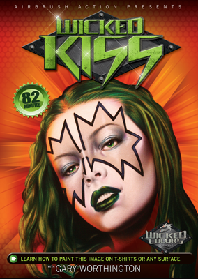 Gary Worthington - Wicked Kiss (DVD)