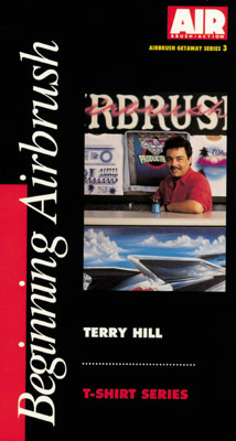 Terry Hill - Beginning Airbrush (DVD)