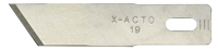 X-Acto No.19 Angled Wood Chisel Blade x 5