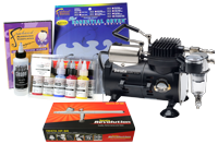 Iwata Art & Graphics Airbrush Kit with Smart Jet Compressor
