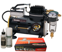 Iwata Professional Make-Up Kit with Sprint Jet Compressor