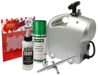Home Nail Art Kit with Premi-Air Baby Compressor and Sparmax SP-35C Airbrush