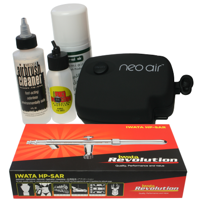 Neo for Iwata Spray Tanning Kit